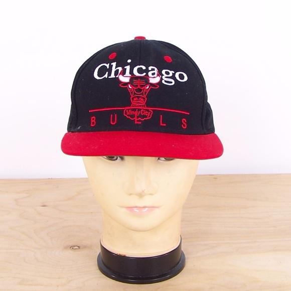 baeb8323 adidas Accessories | Chicago Bulls Nba Retro Snapback Hat Cap | Poshmark